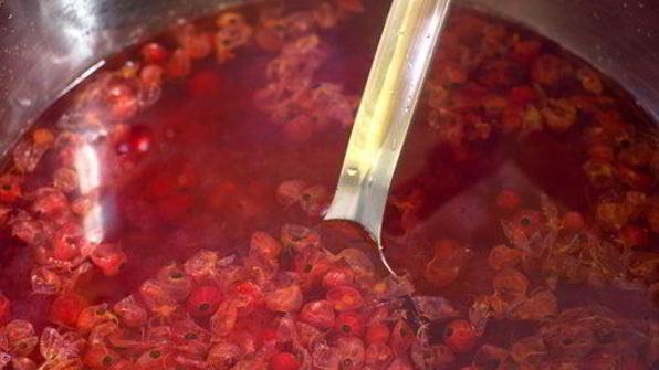как сварить морс из красной смородины