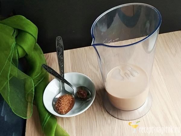 кофейный смузи с молоком