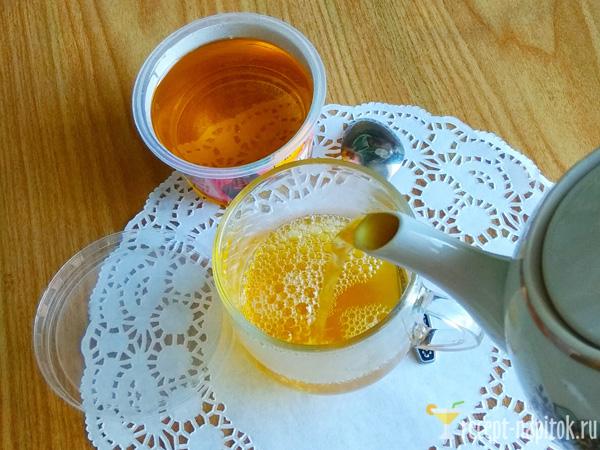 чай из свежих листьев смородины