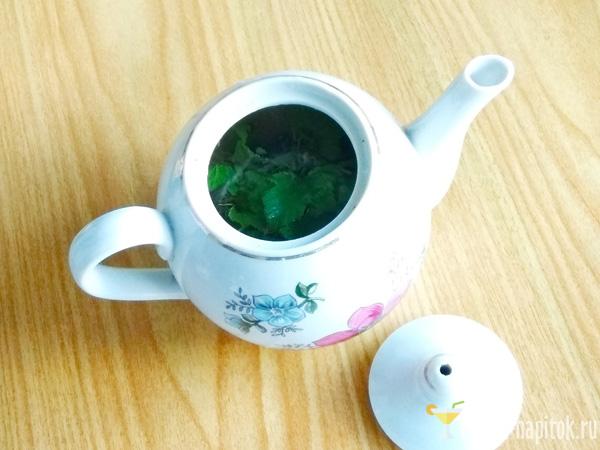 рецепт чая из листьев смородины