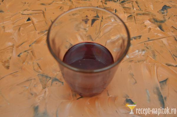 стакан черничного сока