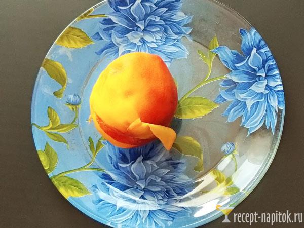 очищенный персик