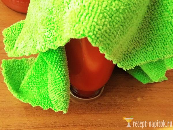 заготовка томатного сока на зиму