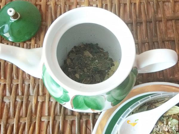липовый чай из сухой липы