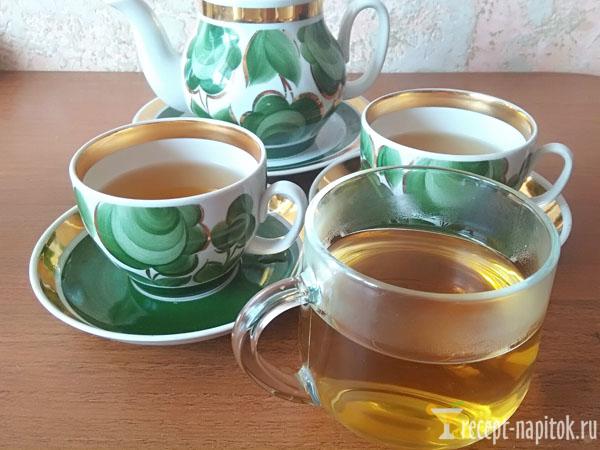 ароматный липовый чай