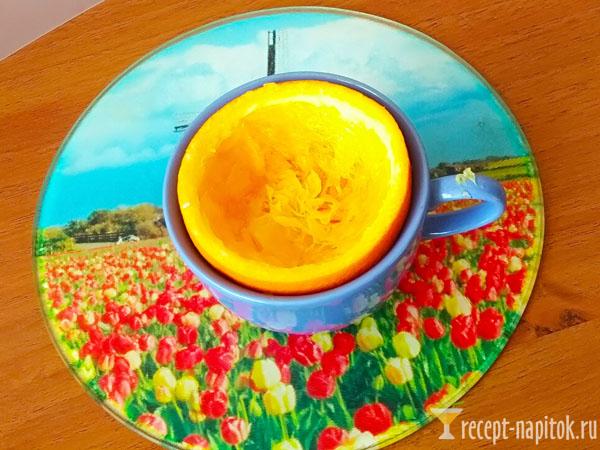апельсиновый кофе в домашних условиях