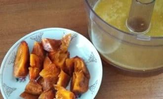 апельсиновый сок с хурмой