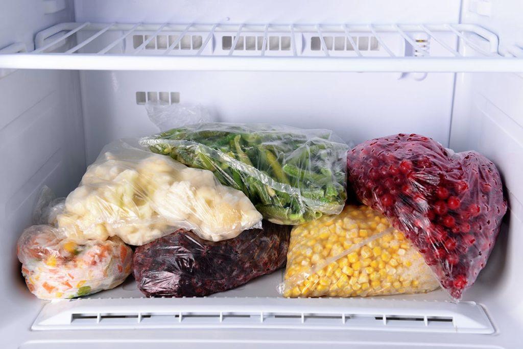 заморозки овощей и фруктов на зиму