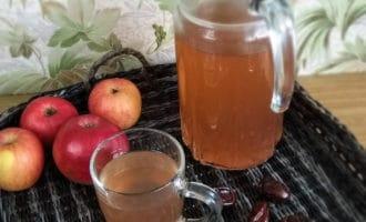 компот из яблок и изюма