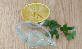 свежевыжатый сок лимона